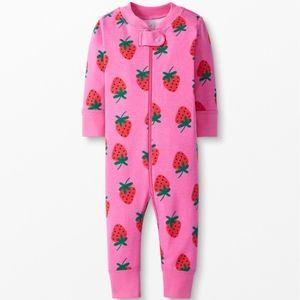NWT Hanna Andersson Strawberry Sleeper Pajama